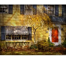 The little yellow house Photographic Print