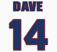 National baseball player Dave Barbee jersey 14 by imsport