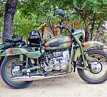 The Russians Are Coming! - A Ural Motorcycle Combination by AARDVARK