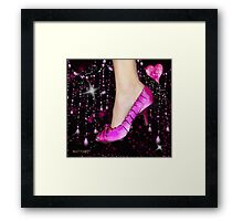 I Love My Pink Shoes!! (Views: 9630 :o) Framed Print
