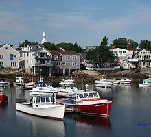 Rockport, Massachusetts, by Linda Jackson