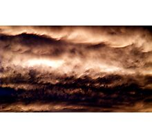 Evening Clouds #3 Photographic Print