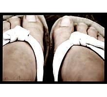 Summer Toes Photographic Print