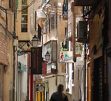 Backstreets Of Palma by Max Karen