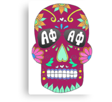 APhi Sugar Skull Canvas Print