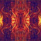 Flaming Baroque by Lynda Lehmann