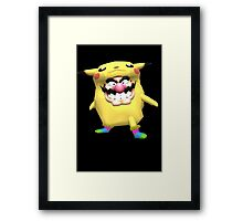 wario is into some weird stuff Framed Print