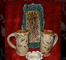"""RUSTIC CERAMIC: """"The Wild Rose"""" by Patricia Anne McCarty-Tamayo"""