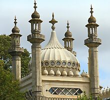 Detail: The Royal Pavilion Brighton England by Carole-Anne