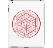 Cubed Flower of Life  iPad Case/Skin