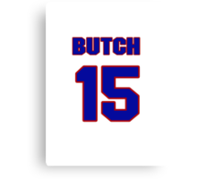 National baseball player Butch Benton jersey 15 Canvas Print