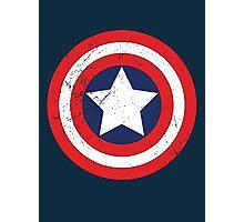 Captain America - Shield Photographic Print