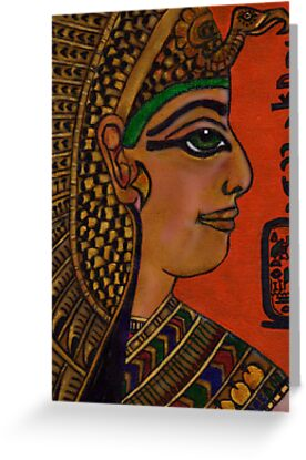 NEFERTARI - BELOVED OF MUT by Mariaan Maritz Krog Fine Art Portfolio