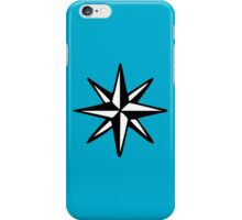 Compass Rose (Two-Color) iPhone Case/Skin