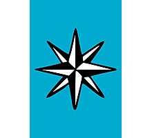 Compass Rose (Two-Color) Photographic Print