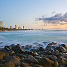 Sunrise at Burleigh by RhondaR