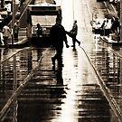 Melbourne Streets. by Caroline Gorka