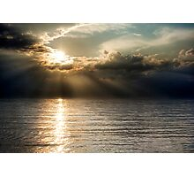 Apocalyptic sunset Photographic Print