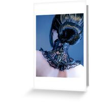 Gothic chic Greeting Card