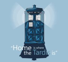 """HOME IS WHERE THE TARDIS IS"" by AlexRoivas"