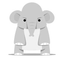 Tiny India Elephant by sapto7
