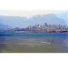 Painterly San Francisco (City and Bay) Photographic Print