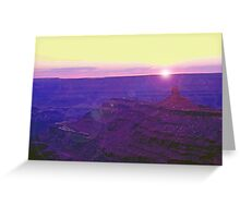 Southeastern Utah Sunset (2) Greeting Card