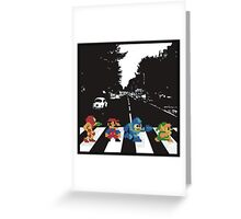 nintendo beatles Greeting Card