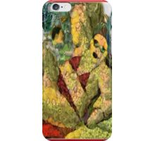 FANCIFUL  SELF PORTRAIT  ... AGAINST FREE RADICALS, I BELIEVE THAT I  HAVE EXAGGERATED WITH FRUIT AND VEGETABLE!!! iPhone Case/Skin