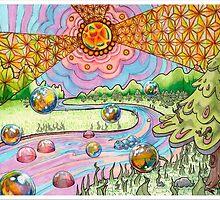"Trippy Forest ""Return of the Voodoo Child"" by gotmoxi"