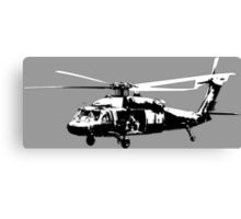 UH-60 Black Hawk Canvas Print