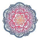 Radiant Medallion Doodle by micklyn