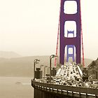 Golden Gate by Anne-Marie Bokslag