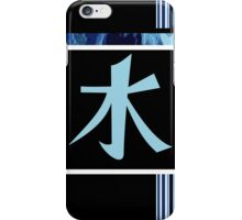 Water Kanji iPhone Case/Skin