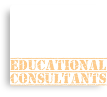 8th Day Educational Consultants T-shirt Canvas Print