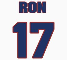 National baseball player Ron Samford jersey 17 by imsport