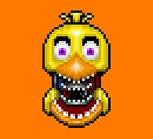 Five Nights at Freddy's 2 - Pixel art - Withered Old Chica by GEEKsomniac