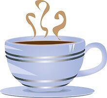 Cup of coffee by AnnArtshock