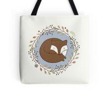 Dreaming Fox Tote Bag