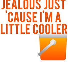 Don't Be Jealous I'm A Little Cooler. by mralan