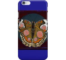 Spiral Butterfly I iPhone Case/Skin