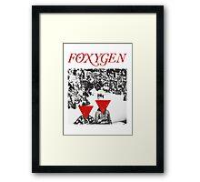 Foxygen  Framed Print