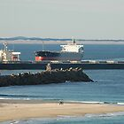 Newcastle Harbour - Coal Shipping Movements by Phil Woodman