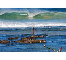 The Mystical Colours of the Surf - Bar Beach NSW Photographic Print