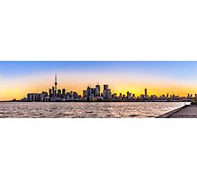 Toronto Skyline 5 Photographic Print