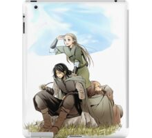 Legolas what do your elf eyes see iPad Case/Skin