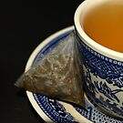 CUP OF GREEN TEA by SharonAHenson