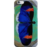 Spiral Butterfly V iPhone Case/Skin