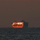 sunset - puesta del sol by Bernhard Matejka