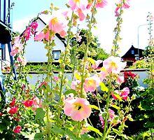 Garden Flowers by HELUA